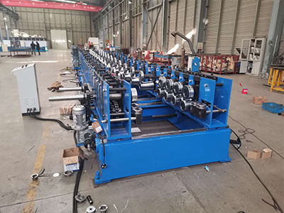 Cable U-groove forming machine