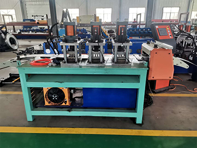 Electric cabinet column forming equipment